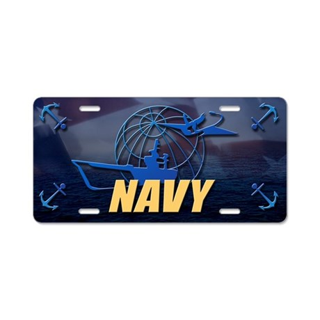 US Navy Vanity License Plate
