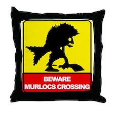 Unique Murloc Throw Pillow