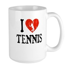 I Heart Tennis - Guy Mug