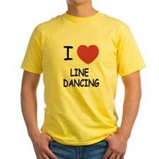 I heart line dancing T