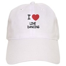 I heart line dancing Baseball Baseball Cap