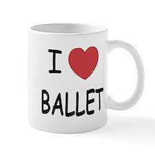 I heart ballet Mug