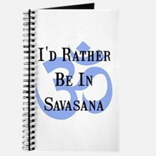 Rather Be In Savasana Journal