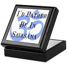 Rather Be In Savasana Keepsake Box