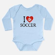 I Heart Soccer - Generic Ball Long Sleeve Infant B