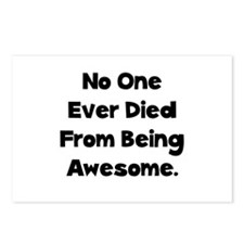 Being Awesome Postcards (Package of 8)