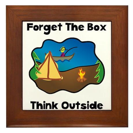 Think Outside Framed Tile