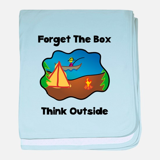 Think Outside baby blanket