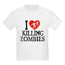 I Heart Killing Zombies T-Shirt