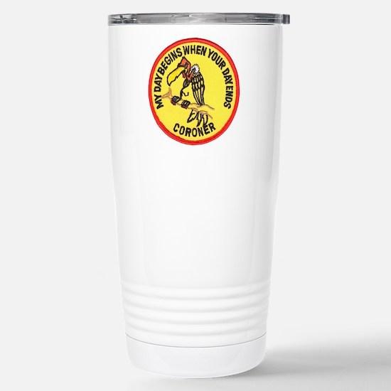 Cute Coroner Travel Mug