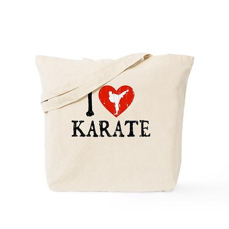 I Heart Karate - Girl Tote Bag