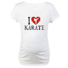 I Heart Karate - Girl Shirt