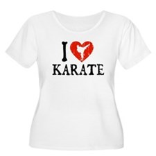 I Heart Karate - Girl T-Shirt