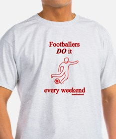 Football Muddy Weekend T-Shirt