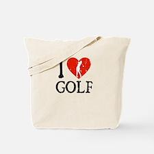 I Heart Golf - Woman Tote Bag