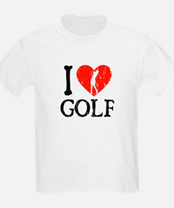 I Heart Golf - Woman T-Shirt