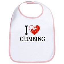 I Heart Climbing - Woman Bib