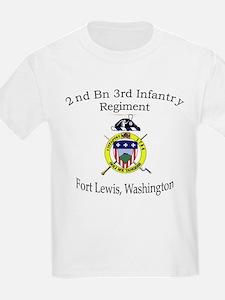 2nd Bn 3rd Infantry Regiment T-Shirt