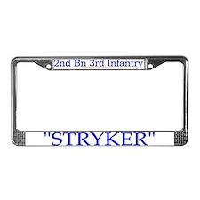 2nd Bn 3rd Infantry Regiment License Plate Frame