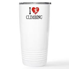 I Heart Climbing - Picto Travel Mug