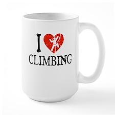 I Heart Climbing - Picto Mug