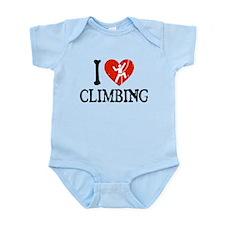 I Heart Climbing - Picto Infant Bodysuit