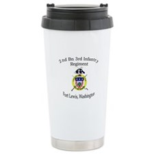 2nd Bn 3rd Infantry Regiment Ceramic Travel Mug