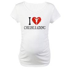 I Heart Cheerleading Shirt