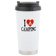 I Heart Camping - Picto Travel Mug