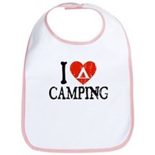 I Heart Camping - Picto Bib