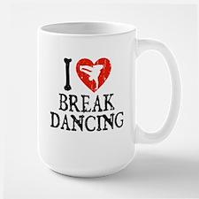I Heart Breakdancing - Guy Large Mug