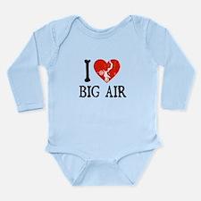 I Love Big Air - Moto Long Sleeve Infant Bodysuit