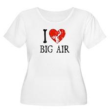 I Love Big Air - Moto T-Shirt