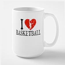 I Heart Basketball - Guy Mug