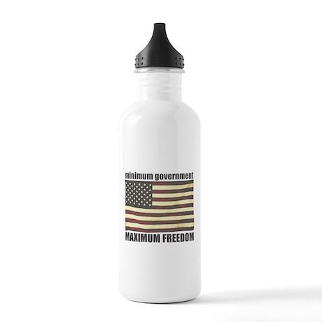 Minimum Government, Maximum F Stainless Water Bott