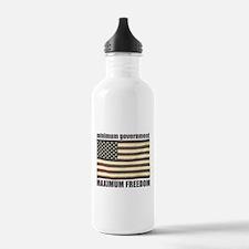 Minimum Government, Maximum F Water Bottle