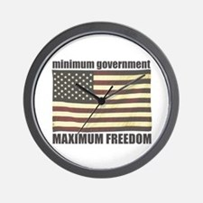 Minimum Government, Maximum F Wall Clock