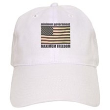 Minimum Government, Maximum F Baseball Baseball Cap