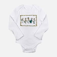 Follow the Leader Long Sleeve Infant Bodysuit