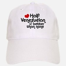 Half Venezuelan Baseball Baseball Cap