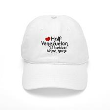 Half Venezuelan Baseball Cap