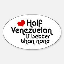 Half Venezuelan Decal