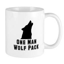 One Man Wolf Pack Mug