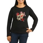 Squid Cards Women's Long Sleeve Dark T-Shirt