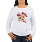 Squid Cards Women's Long Sleeve T-Shirt