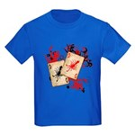 Squid Cards Kids Dark T-Shirt