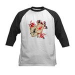 Squid Cards Kids Baseball Jersey