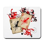 Squid Cards Mousepad