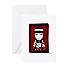 Goth Girl Greeting Cards (Pk of 20)