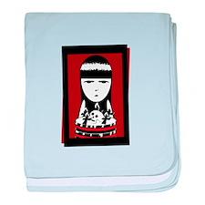 Goth Girl baby blanket